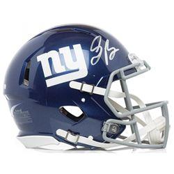 Saquon Barkley Signed Giants Full-Size Speed Helmet (Panini COA)