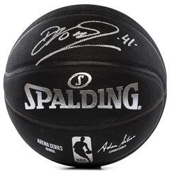 Dirk Nowitzki Signed Spalding Basketball (Panini COA)