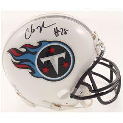 Chris Johnson Signed Tennessee Titans Mini-Helmet (Beckett COA)