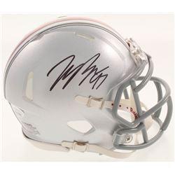 Joey Bosa Signed Ohio State Buckeyes Mini Speed Helmet (JSA COA)