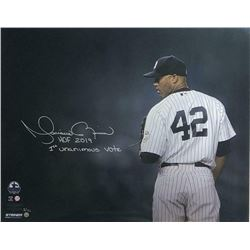"""Mariano Rivera Signed New York Yankees 16x20 Limited Edition Photo Inscribed """"HOF 2019""""  """"1st Unanim"""