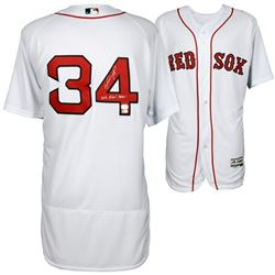 "David Ortiz Signed Boston Red Sox Jersey Inscribed ""2016 Final Season"" (MLB Hologram  Fanatics Holog"