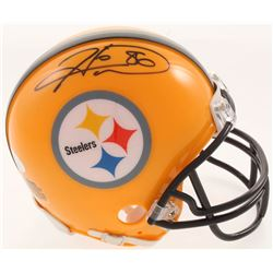 Hines Ward Signed Pittsburgh Steelers Mini-Helmet (JSA COA)