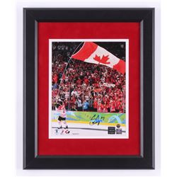 Scott Niedermayer Signed Team Canada 13x16 Custom Framed Photo Display (Steiner COA  Niedermayer Hol