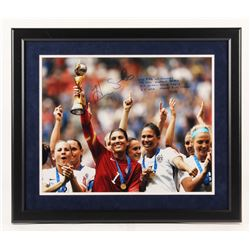 Hope Solo Signed LE Team USA 22x26 Custom Framed Photo Display with Multiple Inscriptions (Steiner C