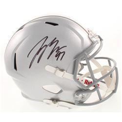 Joey Bosa Signed Ohio State Buckeyes Full-Size Speed Helmet (JSA COA)