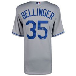 Cody Bellinger Signed Dodgers Majestic Jersey (MLB Hologram  Fanatics Hologram)