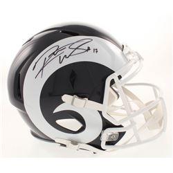 Robert Woods Signed Los Angeles Rams Full-Size Speed Helmet (JSA COA)