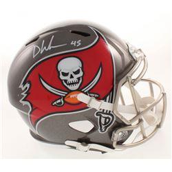Devin White Signed Tampa Bay Buccaneers Full-Size Speed Helmet (Beckett COA)