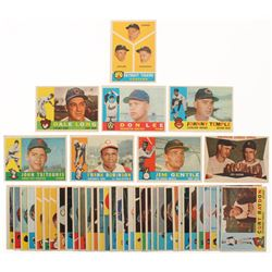 Lot of (41) 1960 Topps Baseball Cards with #490 Frank Robinson, #500 Johnny Temple, #429 Nellie Fox