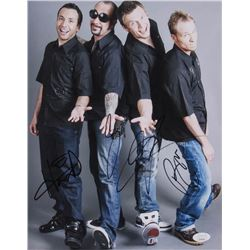 Backstreet Boys 11x14 Photo Signed By (4) with Nick Carter, Howie Dorough, A. J. McLean  Brian Littr