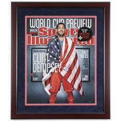 Clint Dempsey Signed Team USA 22x26 Custom Framed Photo (Steiner COA)