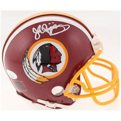 John Riggins Signed Washington Redskins Mini-Helmet (JSA COA)