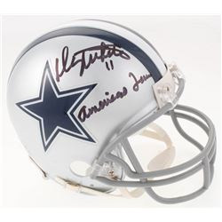 "Danny White Signed Dallas Cowboys Mini Helmet Inscribed ""Americas Team"" (JSA COA)"
