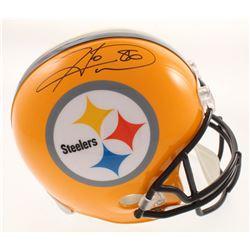 Hines Ward Signed Pittsburgh Steelers Full-Size Helmet (JSA COA)