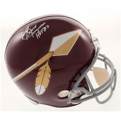 "Sonny Jurgensen Signed Washington Redskins Full-Size Helmet Inscribed ""HOF 83"" (JSA COA)"