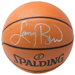 Larry Bird Signed NBA Game Ball Series Basketball (Beckett COA)