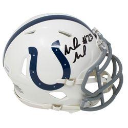 Marlon Mack Signed Indianapolis Colts Speed Mini Helmet (JSA COA)