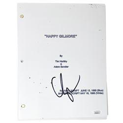 "Adam Sandler Signed ""Happy Gilmore"" Movie Script (JSA COA)"