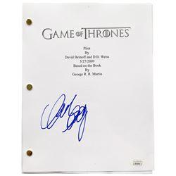 "Mark Addy Signed ""Game of Thrones"" Episode Script (JSA COA)"