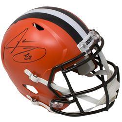 Jarvis Landry Signed Cleveland Browns Full-Size Speed Helmet (JSA COA)