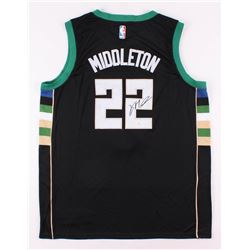 Khris Middleton Signed Milwaukee Bucks Jersey (JSA COA)