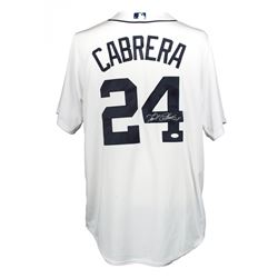 Miguel Cabrera Signed Detroit Tigers Majestic Authentic Jersey (JSA COA)