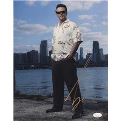 "Bruce Campbell Signed ""Burn Notice"" 11x14 Photo (JSA COA)"