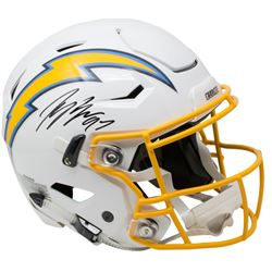 Joey Bosa Signed Los Angeles Chargers Riddell Full-Size Authentic On-Field SpeedFlex Helmet (Beckett