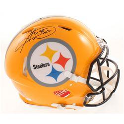 Hines Ward Signed Pittsburgh Steelers Full-Size Authentic On-Field Speed Helmet (JSA COA)