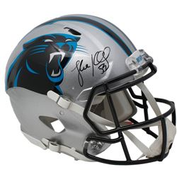 Luke Kuechly Signed Carolina Panthers Full-Size Authentic On-Field Speed Helmet (Beckett COA)