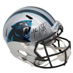 Luke Kuechly Signed Carolina Panthers Full-Size Speed Helmet (Beckett COA)