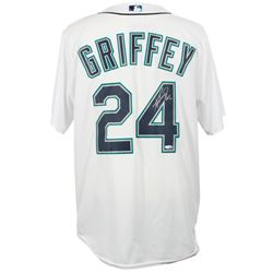 "Ken Griffey Jr. Signed Seattle Mariners Majestic Jersey Inscribed ""HOF 16"" (TriStar Hologram)"