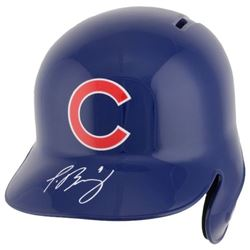 Javier Baez Signed Chicago Cubs Full-Size Batting Helmet (Fanatics Hologram  MLB Hologram)