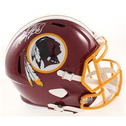 Adrian Peterson Signed Washington Redskins Full-Size Speed Helmet (Beckett COA)