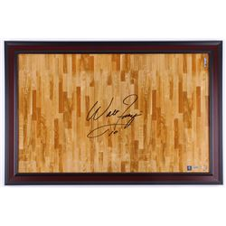 Walt Frazier Signed 23.5x35.5 Custom Framed Photo Display (Steiner COA)