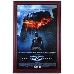 Matt Harvey Signed  The Dark Knight  23.25x35.25 Custom Framed Poster Display (Steiner COA)