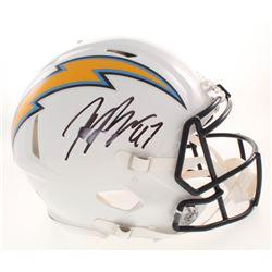 Joey Bosa Signed San Diego Chargers Full-Size Authentic On-Field Speed Helmet (JSA COA)