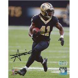 Alvin Kamara Signed New Orleans Saints 8x10 Photo (Radtke Hologram)