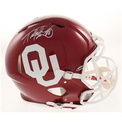 Adrian Peterson Signed Oklahoma Sooners Full-Size Authentic On-Field Speed Helmet (Beckett COA)