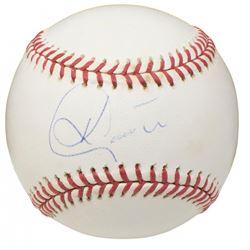 Ken Caminiti Signed ONL Baseball (Beckett COA)