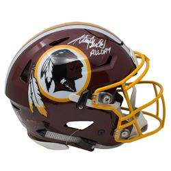 Adrian Peterson Signed Washington Redskins Full-Size Authentic On-Field SpeedFlex Helmet Inscribed ""
