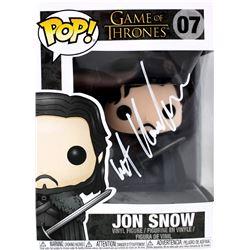 "Kit Harington Signed ""Game of Thrones"" #7 Jon Snow Funko Pop Figure (Radtke COA)"