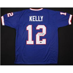 "Jim Kelly Signed Jersey Inscribed ""HOF 02"" (Radtke COA)"