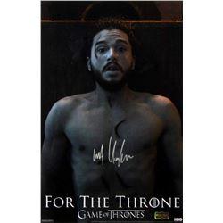 """Kit Harington Signed """"Game of Thrones"""" 11x17 Photo (Radtke COA)"""