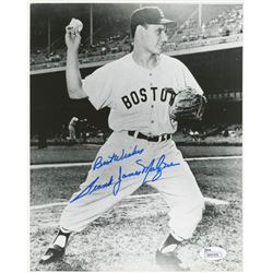"""Frank Malzone Signed Boston Red Sox 8x10 Photo Inscribed """"Best Wishes"""" (JSA COA)"""
