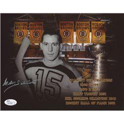 Milt Schmidt Signed Boston Bruins 8x10 Photo (JSA COA)
