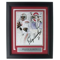 Dwayne Haskins Signed Ohio State Buckeyes 11x14 Custom Framed Photo Display (JSA COA)