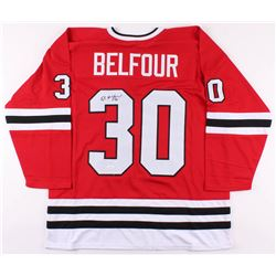 Ed Belfour Signed Jersey (JSA COA)