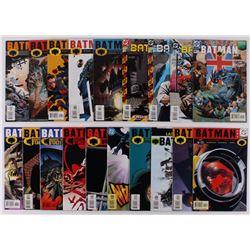 """Lot of (19) 1998-2002 """"Batman"""" #559-#608 DC Comic Books"""